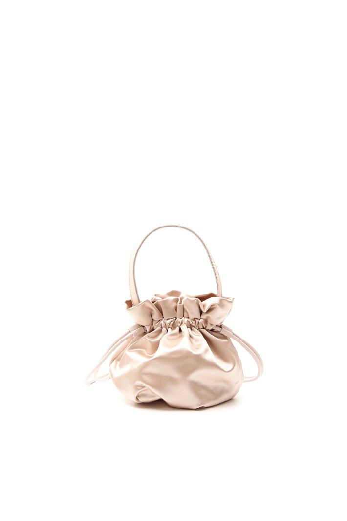 Sack-like bag in satin Intrend