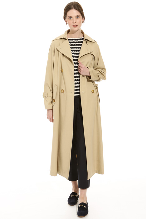 Trench in gabardina antigoccia Intrend