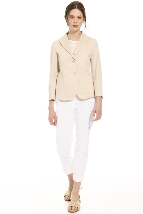 Giacca in gabardina stretch Intrend