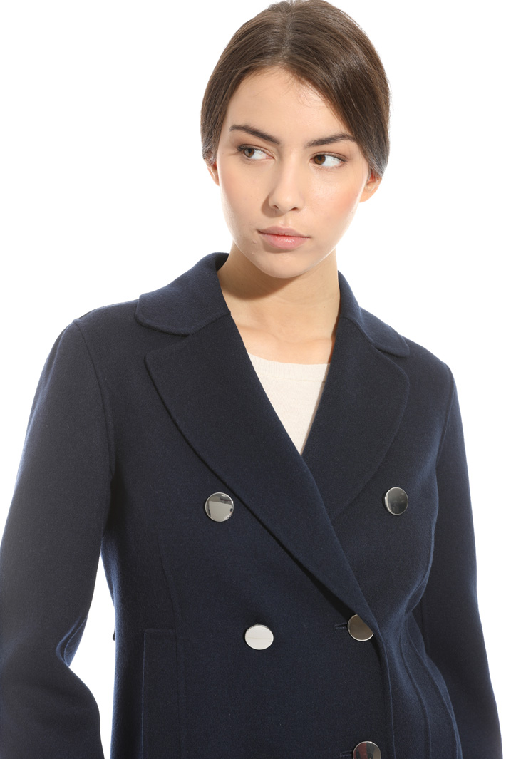 Double-breasted pea coat  Intrend