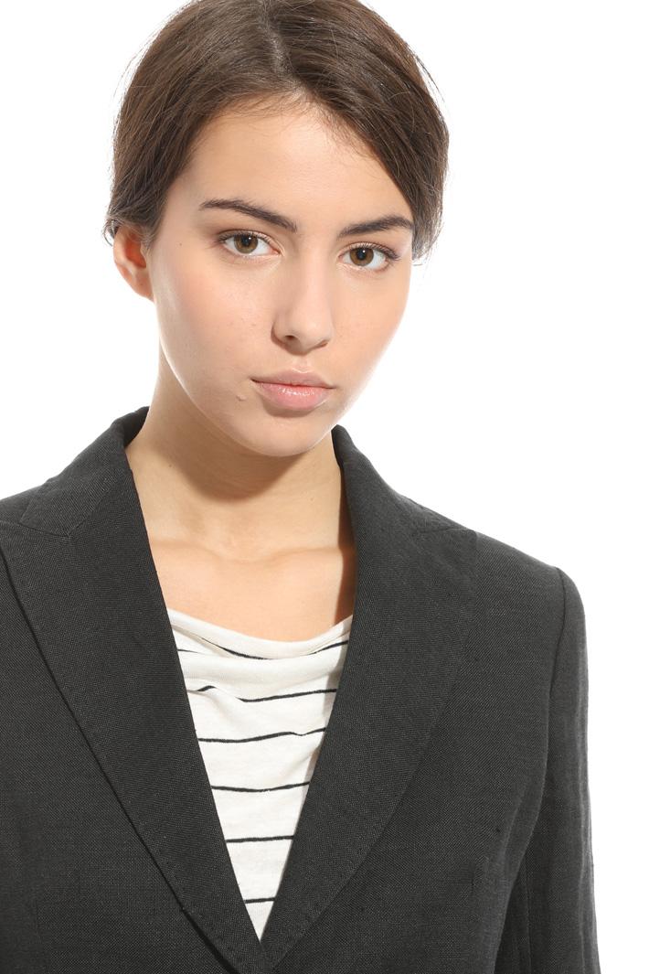 Linen blazer jacket Intrend