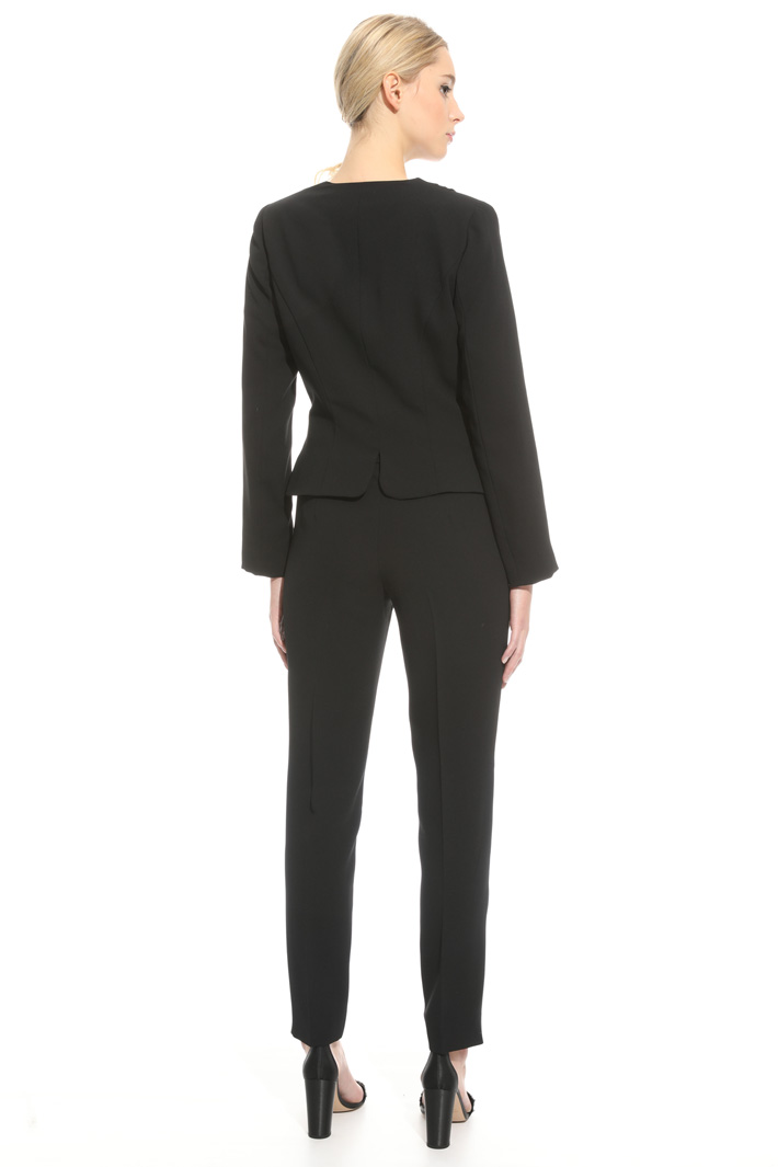 Tailleur in tessuto crepe Intrend