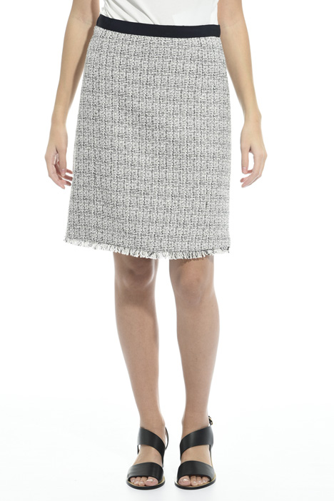 Interwoven lurex skirt Intrend