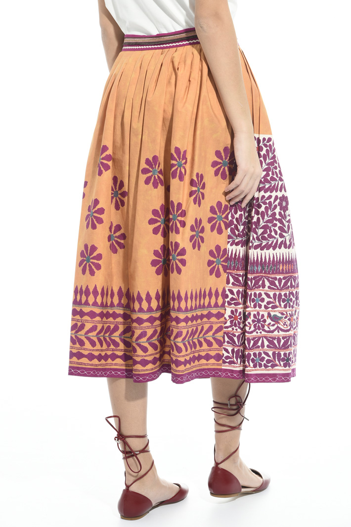 Printed skirt Intrend