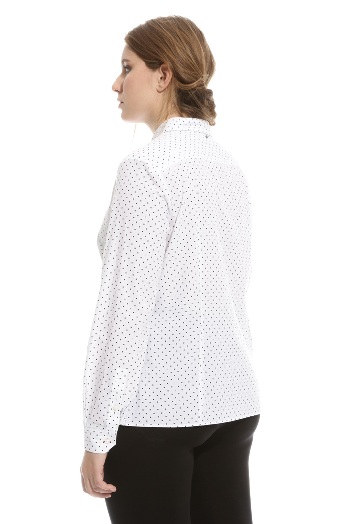 Camicia in popeline di cotone Intrend