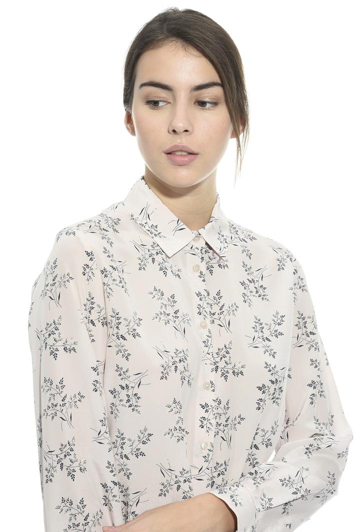 Camicia in seta stampata Intrend