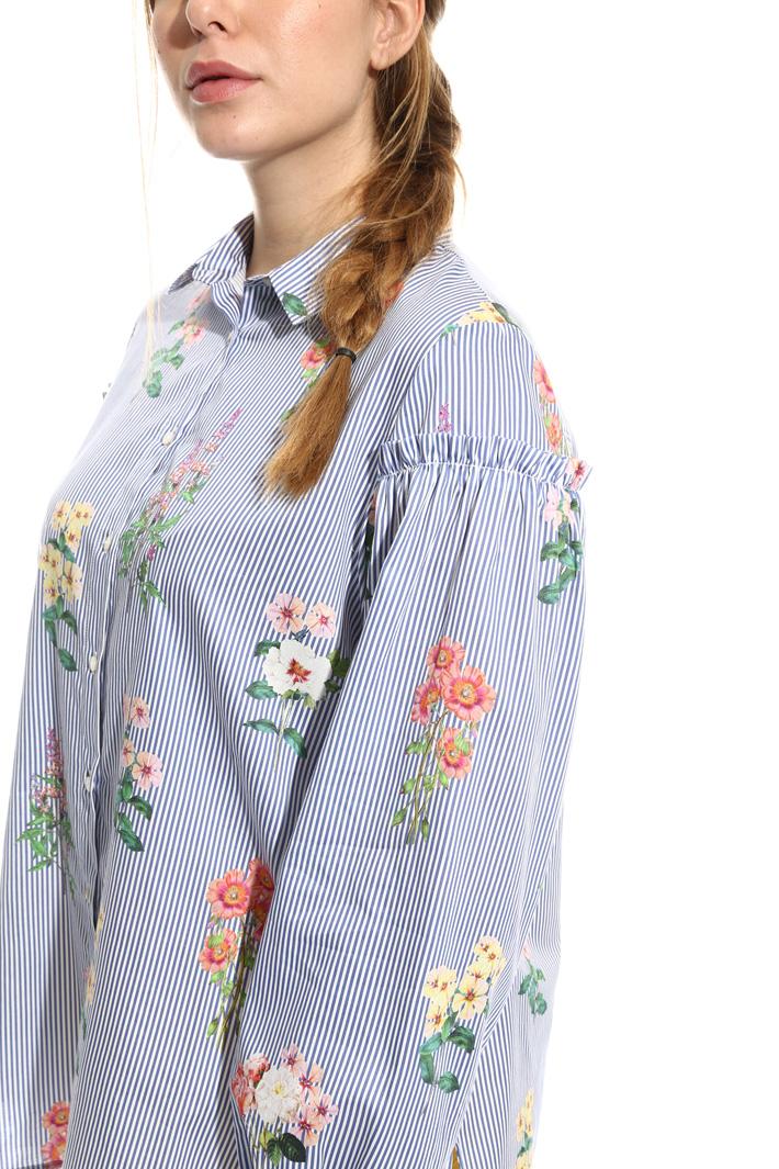 Camicia in raso di cotone Intrend