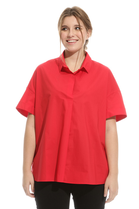 Oversized poplin blouse Intrend