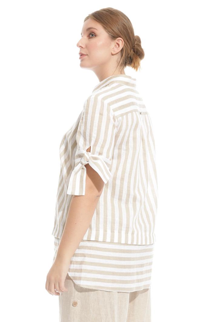 Camicia in lino e cotone Intrend