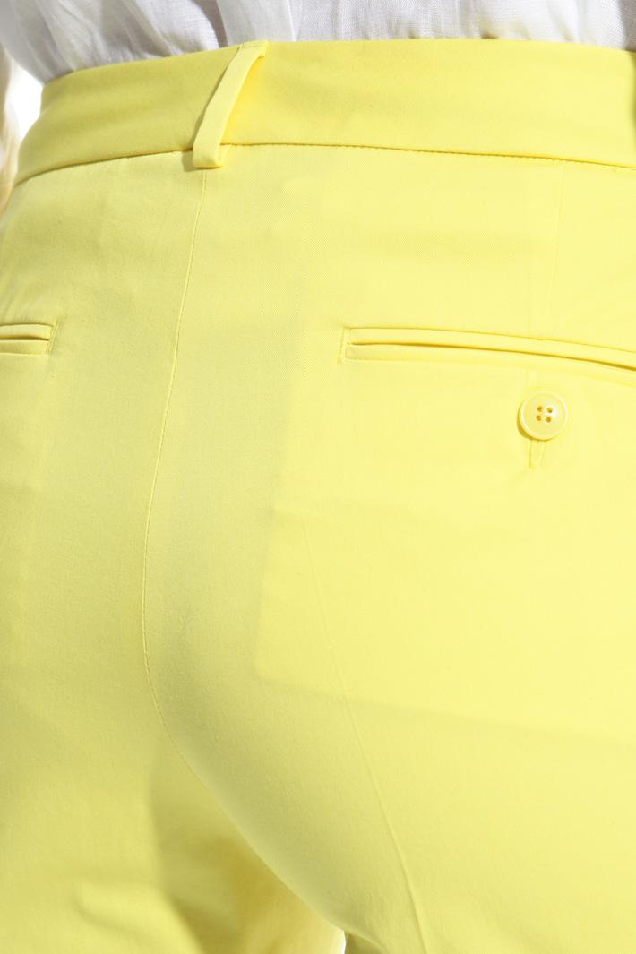 Pantalone capri in cotone Intrend