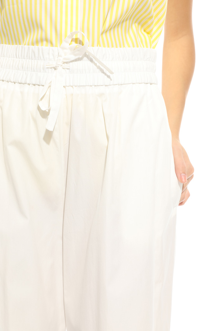 Pantalone con elastico in vita Intrend
