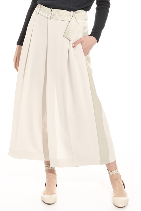 Pantalone ampio in cady fluido Intrend