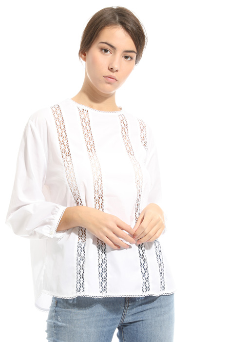 Perforated inlays tunic Intrend