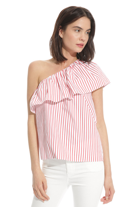 One-shoulder top Intrend