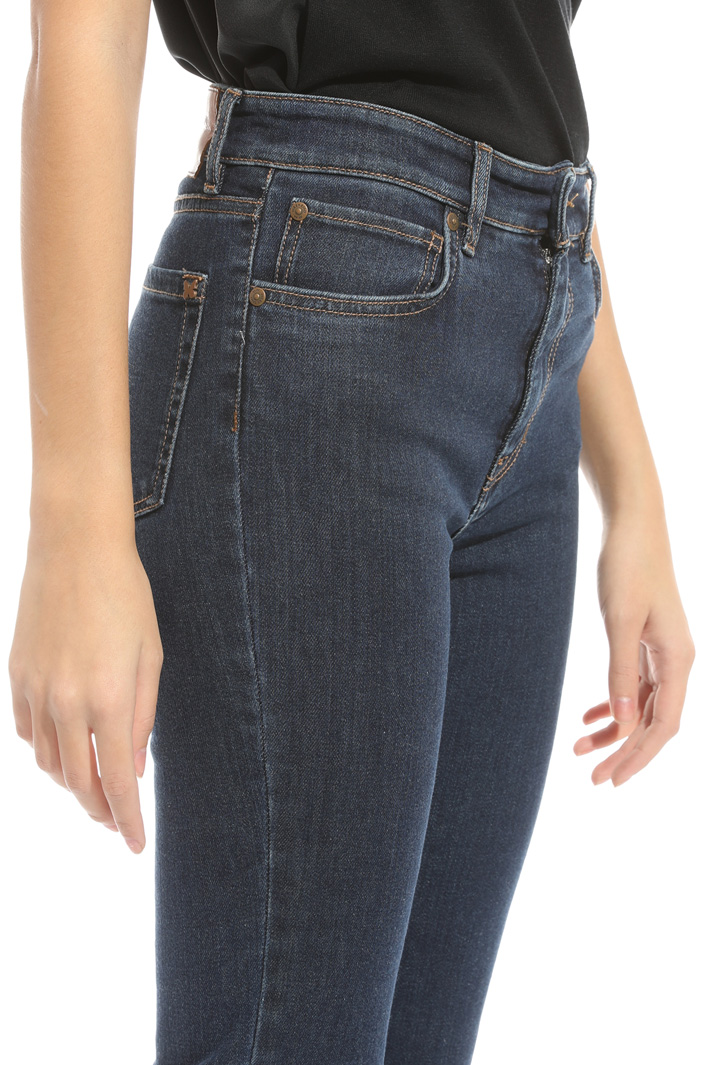 Jeans gamba aderente cropped Intrend
