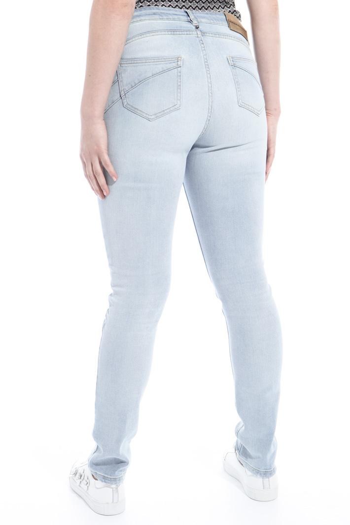 Pantalone in denim stretch Intrend