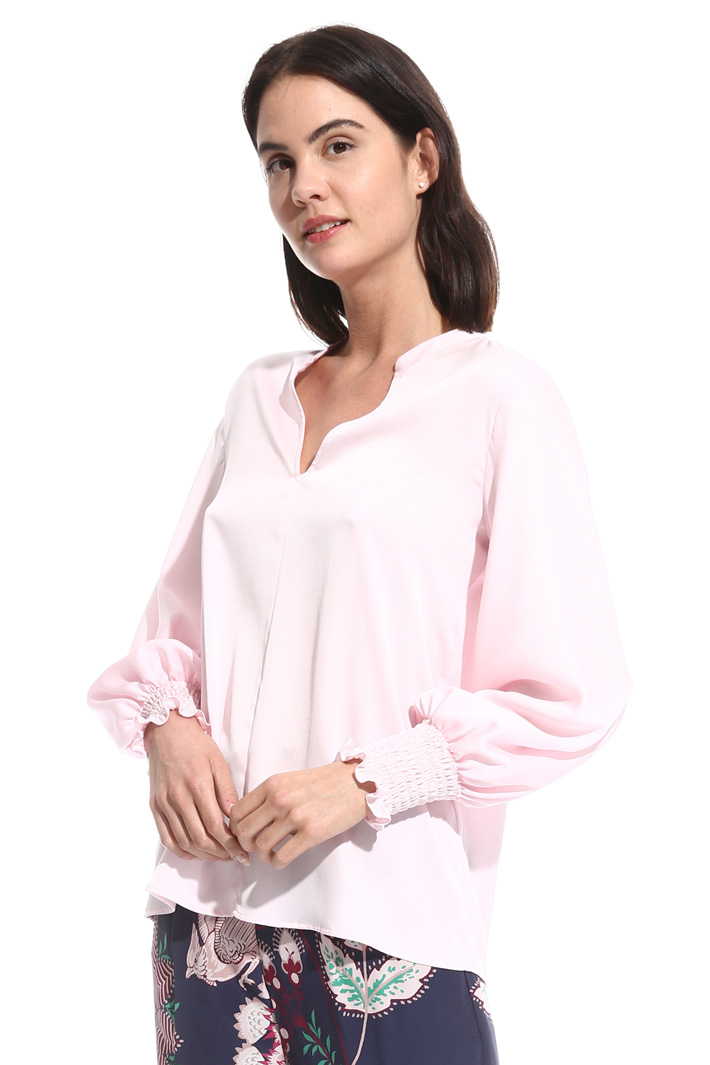 Smock stitch blouse Intrend
