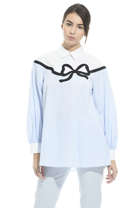 Tunic with shirt collar  Intrend