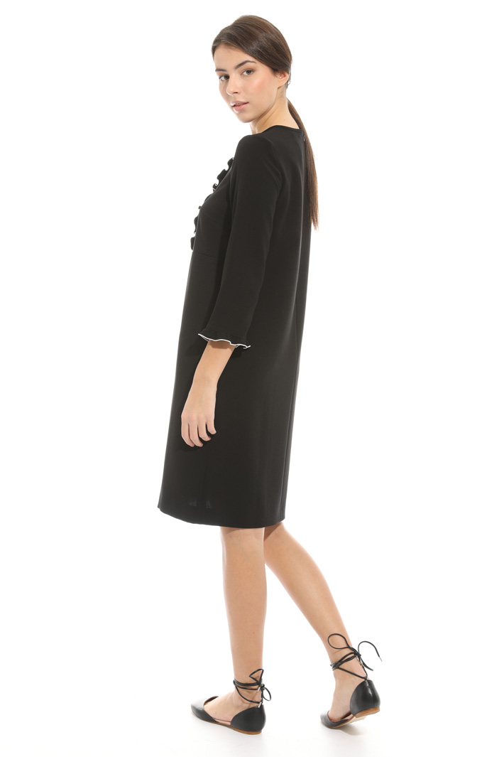 Frilled dress Intrend