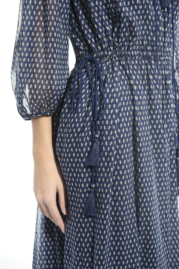 Cotton voilé dress Intrend