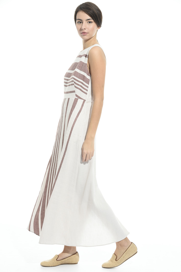 Long linen and cotton dress Intrend