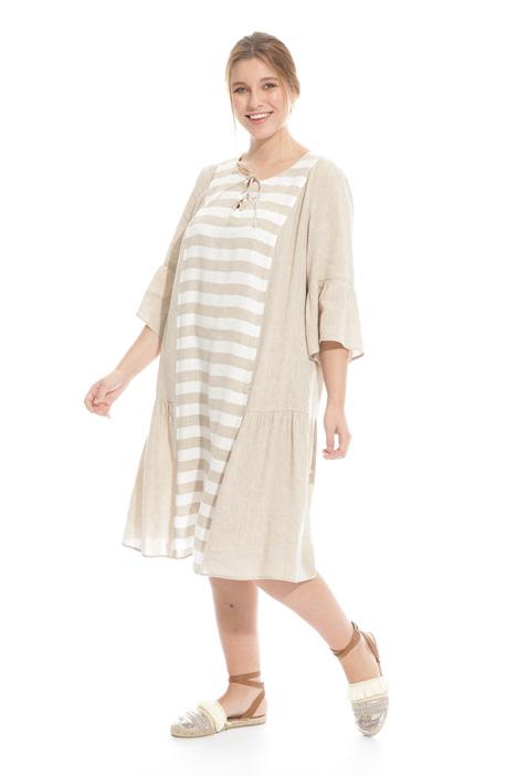 Linen and viscose dress Intrend