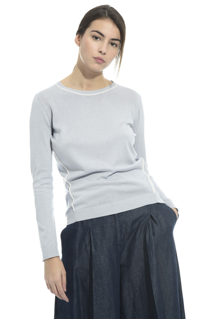 Silk and cotton sweater Intrend