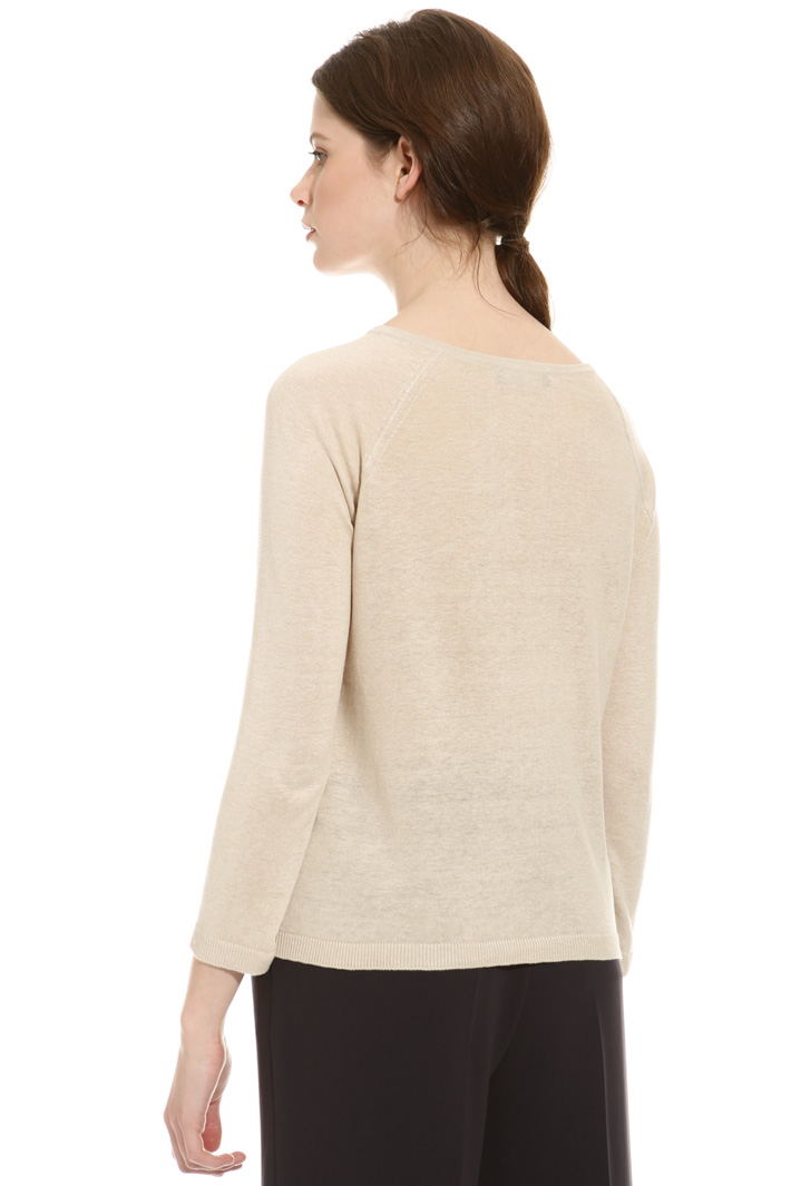 Silk and linen sweater Intrend