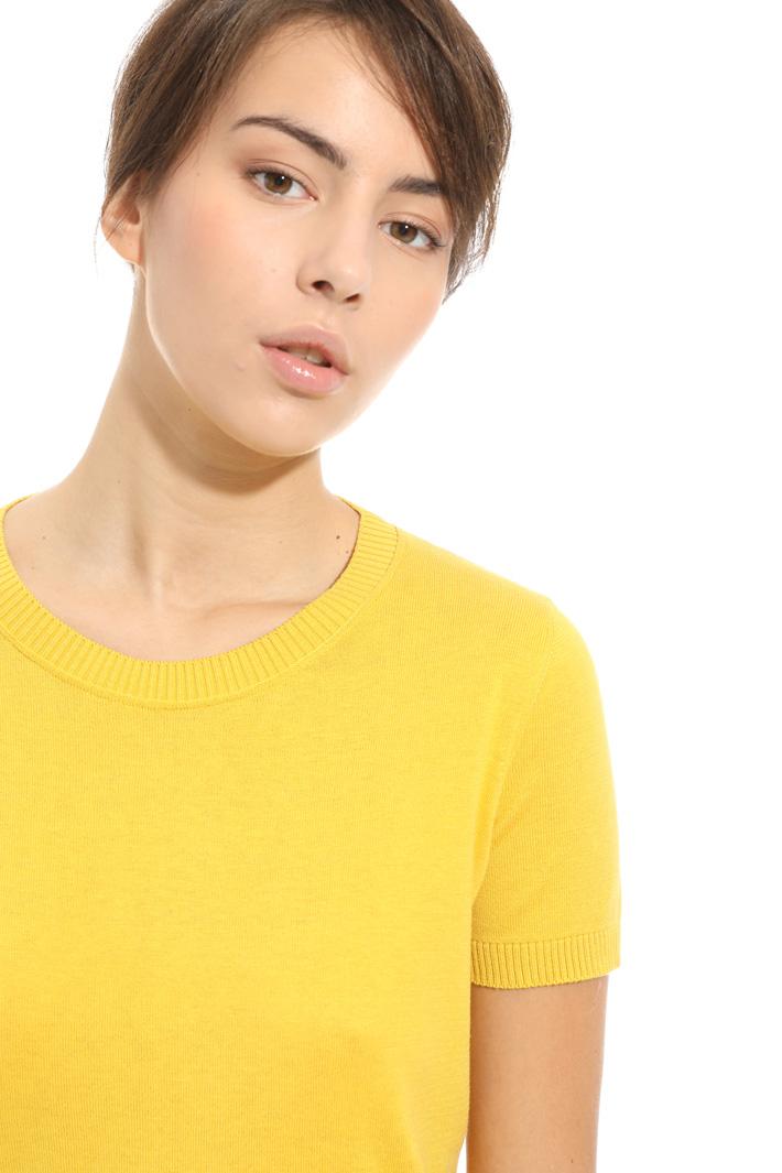 T-shirt in maglia Intrend