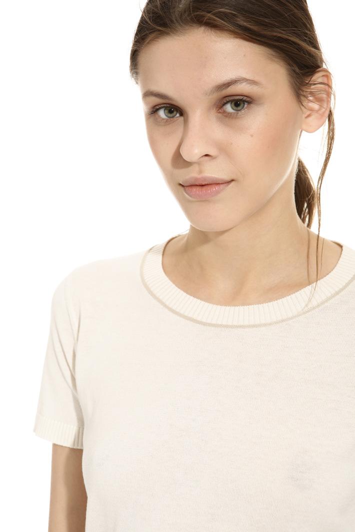 Knit T-shirt Intrend
