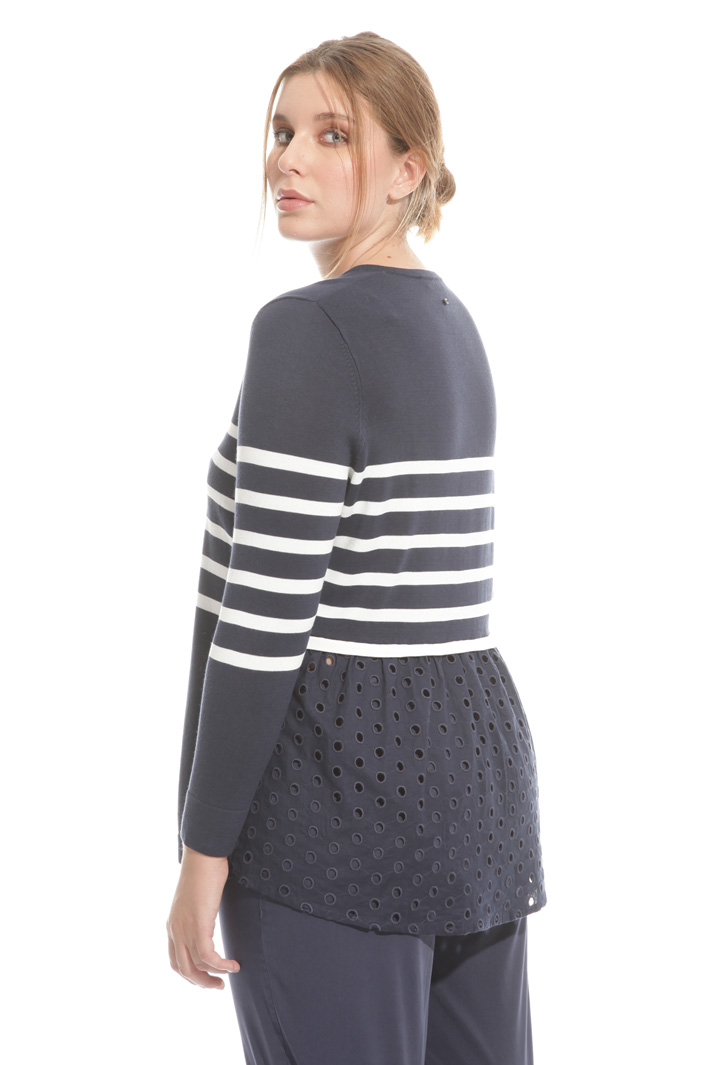 Broderie anglaise sweater  Intrend