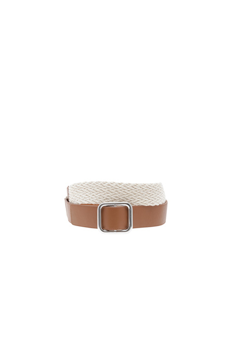 Rope and leather belt Intrend