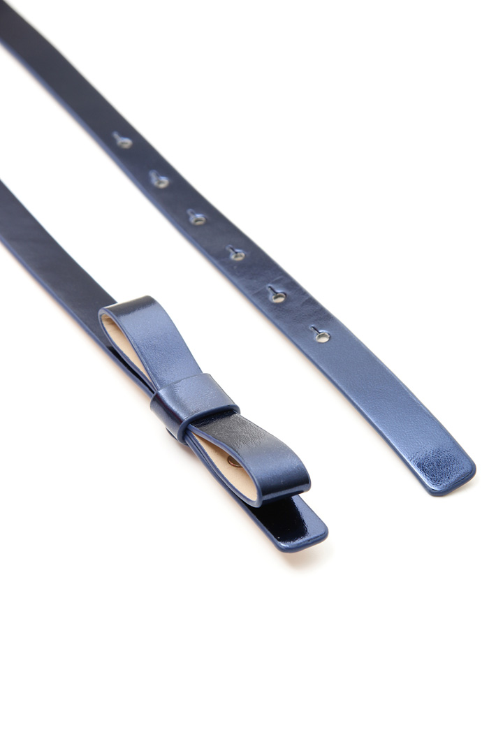 Cintura sottile metallizzata Intrend