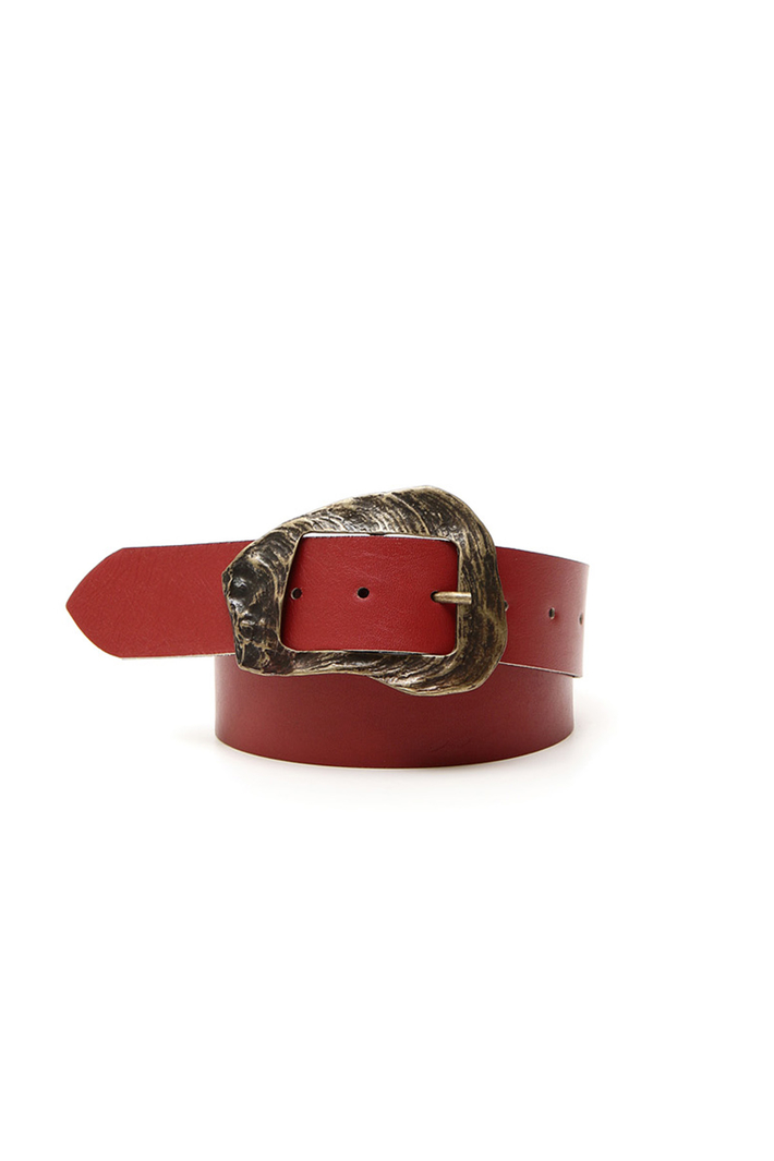 Rectangular buckle belt Intrend