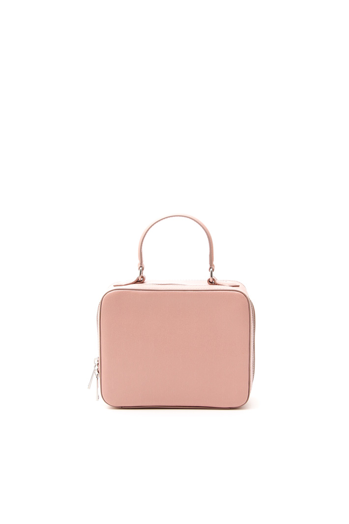 Small leather suitcase Intrend