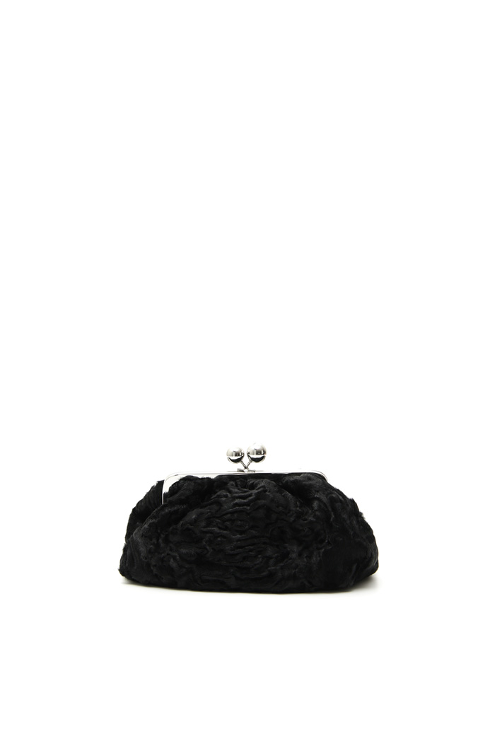 Astrakhan-effect hand bag Intrend