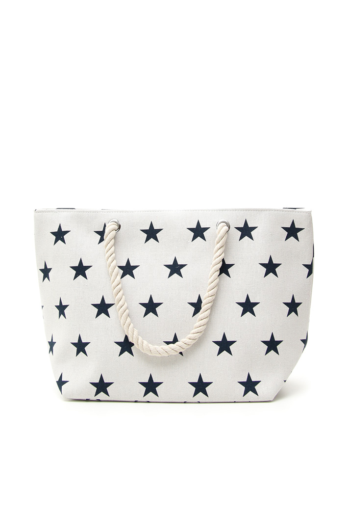 Shopping bag in canvas Intrend