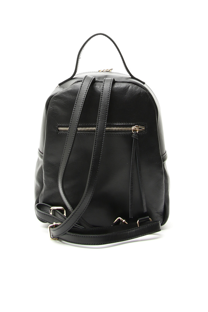 Quilted leather backpack Intrend