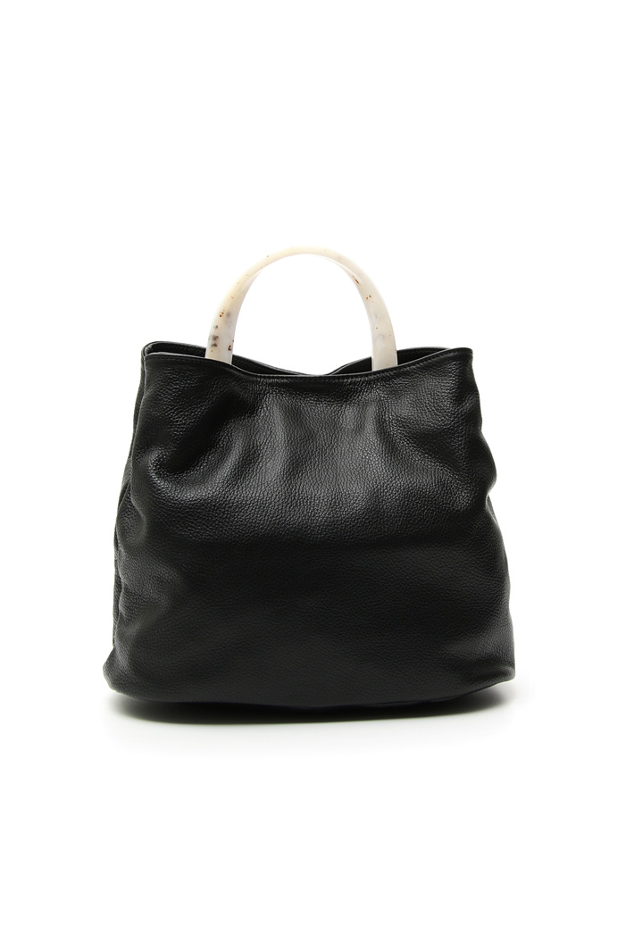 Leather hand bag Intrend