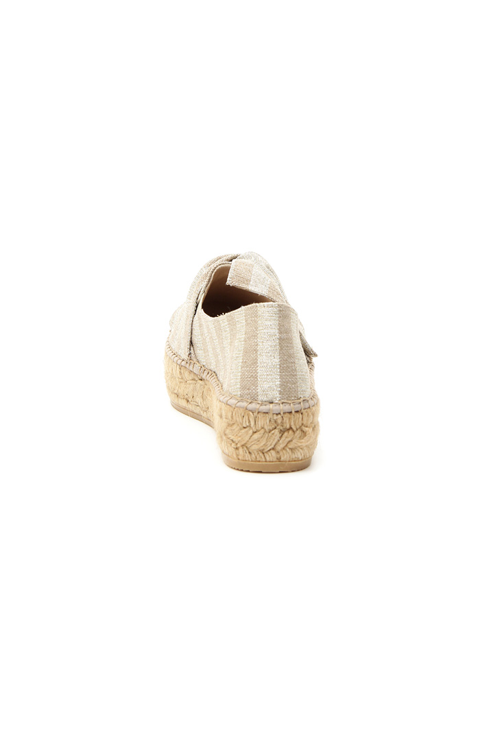 Espadrillas lurex Intrend