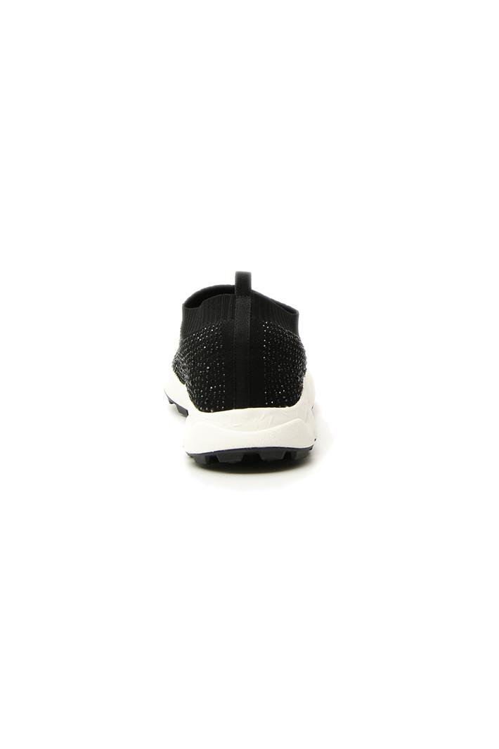 Fabric rhinestone sneakers Intrend