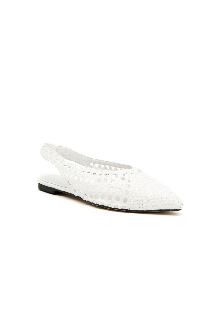 Perforated slingback ballerina Intrend