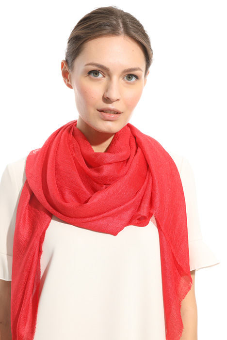 Glossy-effect scarf Intrend