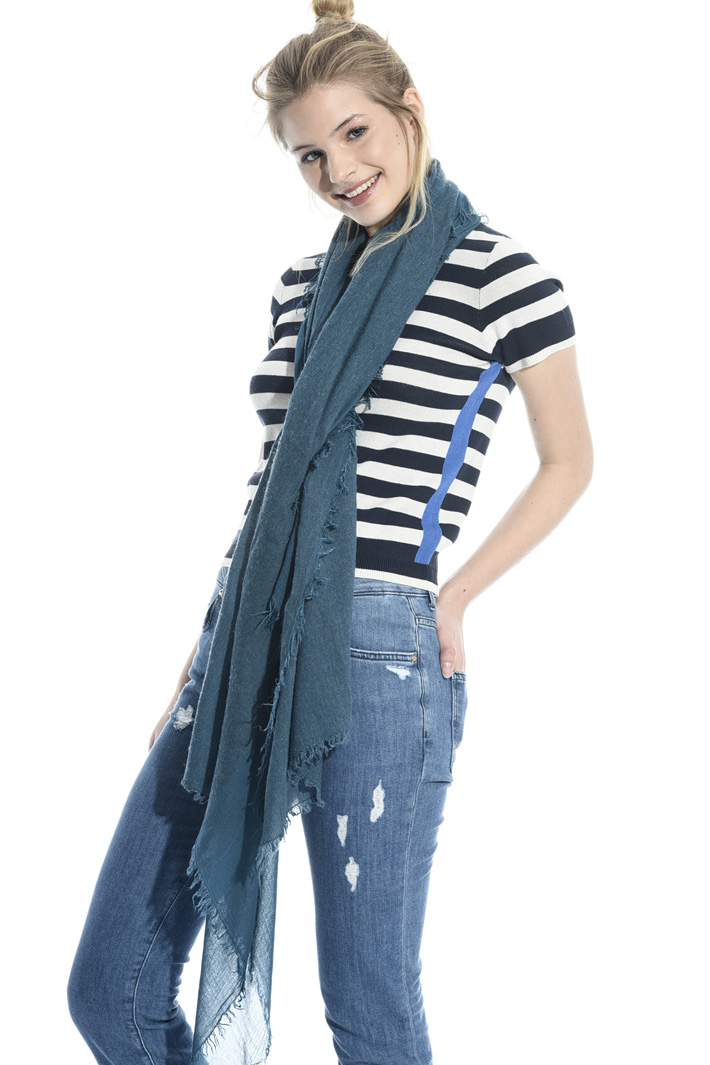 Viscose and wool scarf Intrend