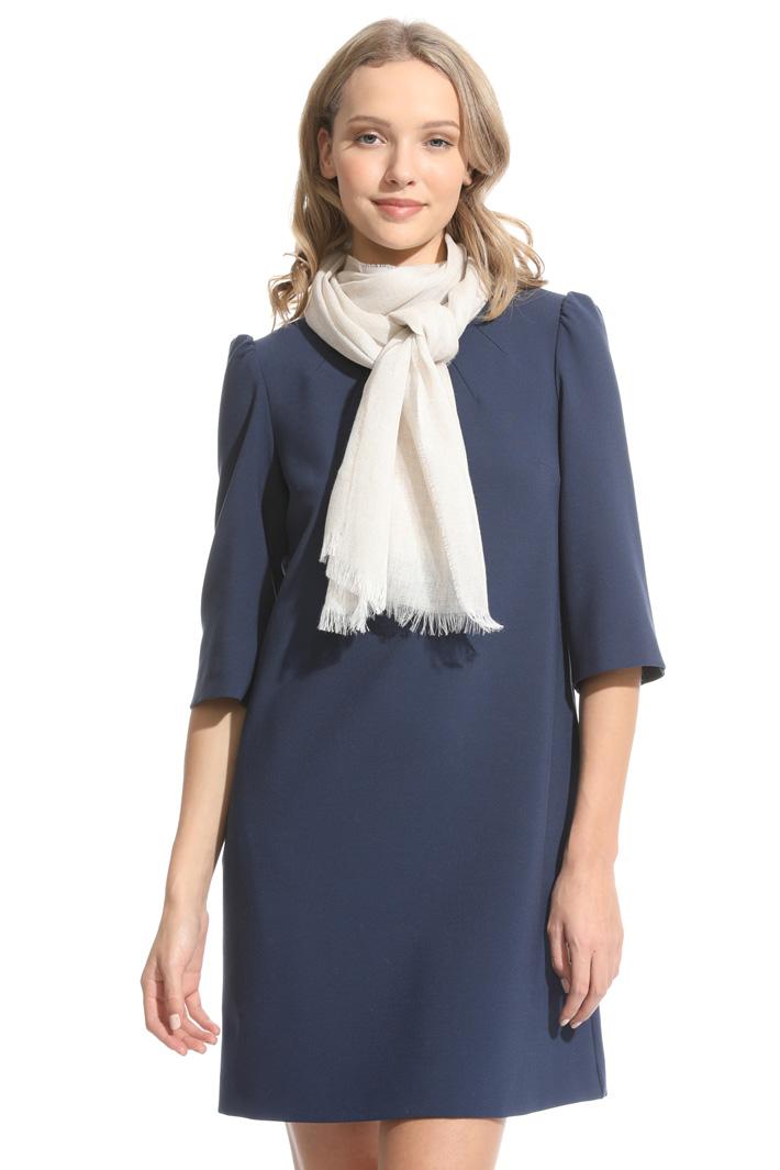Linen blend scarf Intrend