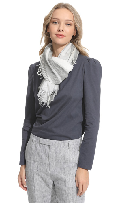 Light striped scarf Intrend