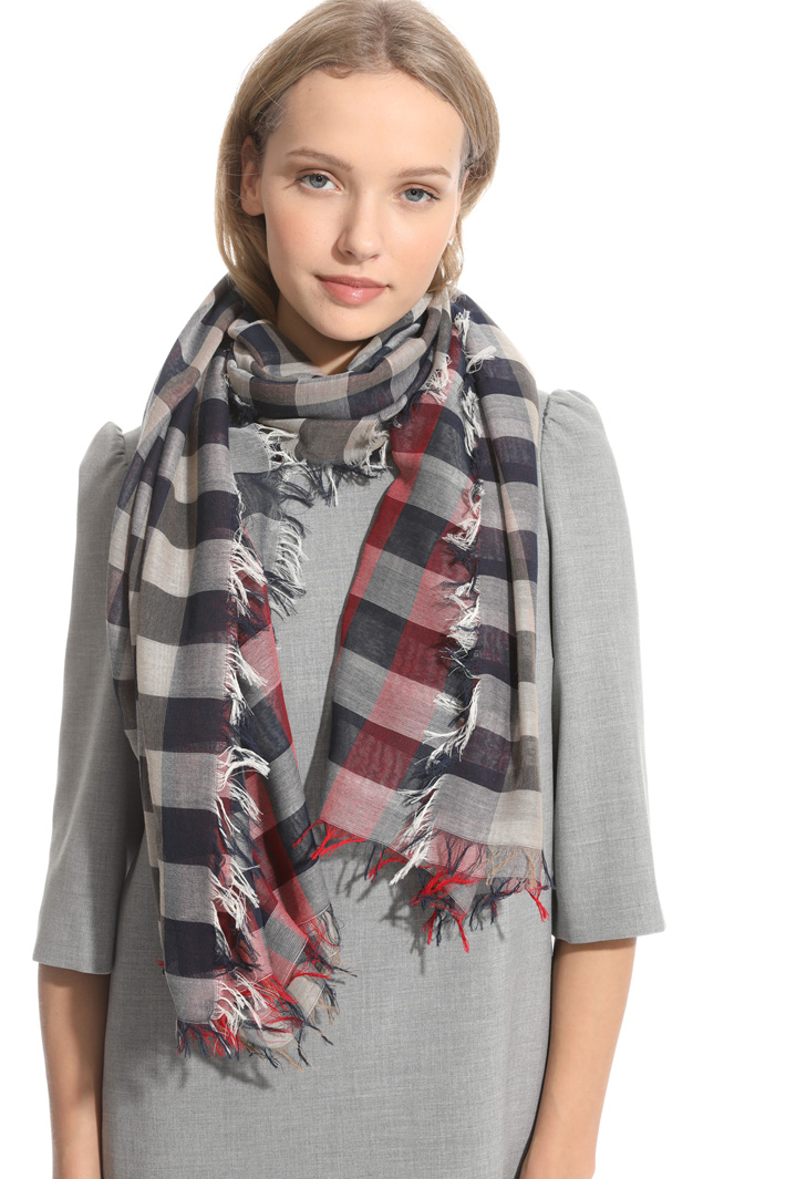 Checked scarf Intrend