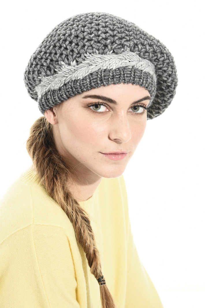 Wool blend hat Intrend