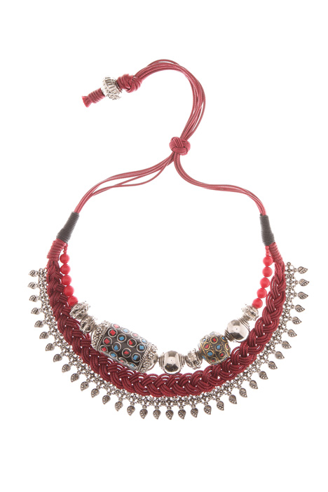 Ethnic motif necklace Intrend