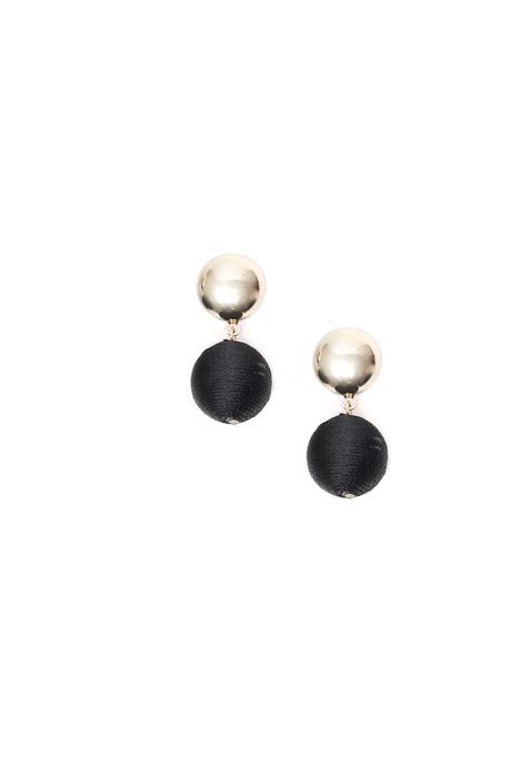 Covered sphere earrings Intrend